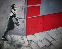 "pl ""Just the body"" Jadwiga Sierocińska Paintings, Paint, Painting Art, Painting, Painted Canvas, Drawings, Grimm, Illustrations"
