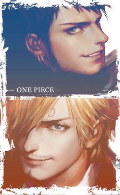 Trafalgar Lo - Sanji - One Piece One Piece Manga, One Piece Comic, One Piece Ace, One Piece Fanart, Anime One, Anime Guys, One Piece Photos, Tsurezure Children, Sanji Vinsmoke