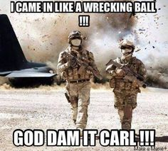 Funny Memes Photos (Random Memes Pictures)- Page 4 of 8 - MindBlowra Funny Army Memes, Army Jokes, Military Jokes, Really Funny Memes, Stupid Funny Memes, Haha Funny, Funny Shit, Memes Humor, Usmc Humor