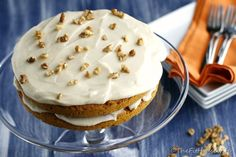 Low-Fat Pumpkin Spice Cake