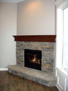 Stoned Fireplace Arkansas Laytite J&N Stone