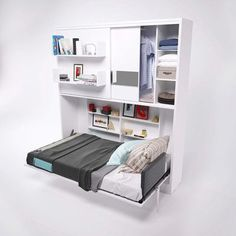 Multimo Parete Letto Wall Twin Murphy Bed | Wayfair