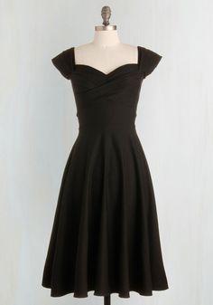Pine All Mine Dress in Noir