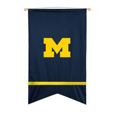 ATHLEZ - Michigan Wolverines Wall flag