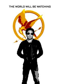 """""""The Hunger Games"""" fan made poster"""