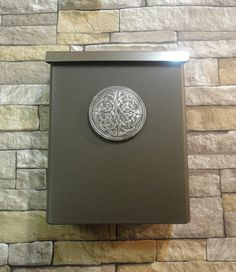 Celtic Knot Locking Security Mailbox Oil Rubbed Bronze House Warming