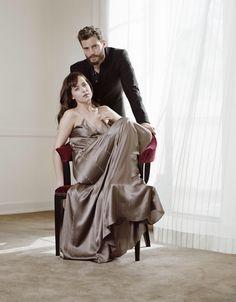 Jamie Dornan & Dakota Johnson fifty shades of grey
