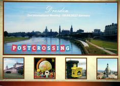 Postcard from Germany ~ Dresden ~ 2nd International Meeting ~ 08/24/17 www.postcrossing.com