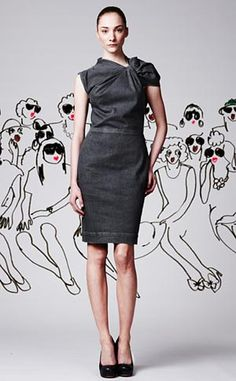Lanvin and Acne collaboration http://www.coolhunting.com/style/lanvinacne-2010.php