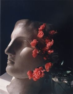 """""""Roses with Antique Head"""" © Horst P. Horst / Staley-Wise Gallery New York"""