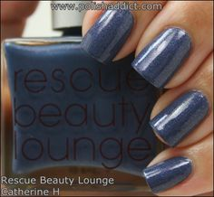 Rescue Beauty Lounge Catherine H #RBL #nailpolish #swatches
