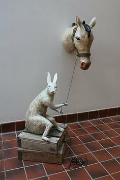 next years prompt for our animal sculptures