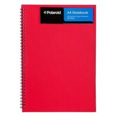 Polaroid A4 wiro bound notebook. We have a great range of stationery suitable for home, school and office use, including paper, pens, pencils, highlighters and equipment to cover all your writing, filing, posting and mailing needs - all at amazing value. Call in to your local store today to see the full stationery selection.