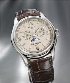 2012 Patek Philippe Annual Calendar. Ref. 5146G-001 - White Gold - Men Complications. 39 mm. 36,500 USD.