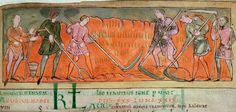 August 1st is Lammas, the earliest Anglo-Saxon harvest festival of the year. (Harvest, from an Anglo-Saxon calendar for August (BL Cotton MS Tiberius B V/1, f. 6v))