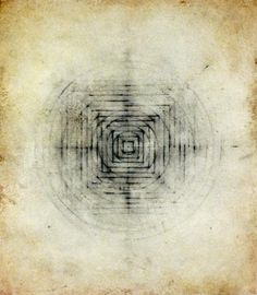 "from cezarygapik tumblr    Luisa Sartori - ""Eart/sky"" #7      2005  Graphite, oil on paper  9"" x 11"""