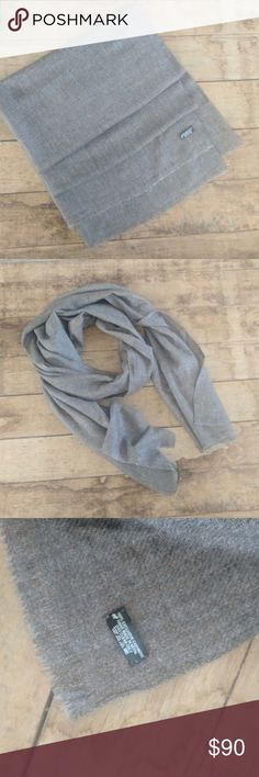 Handmade cashmere scarf | neutral | Unisex | NWOT Amazingly soft cashmere wool scarf (or wrap) in a gorgeous neutral light brown w gray subtly woven through the fabric.  Brand new. NWOT.  Unisex, men's or women's.  Single ply, lightweight.   Due to natural materials some color variation is normal.  From a smoke-free cat-free home.    More scarves in my closet (: Wonder Quest Lab Accessories Scarves