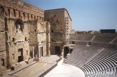 Roman Theatre at Orange. This is a unique theatre because of the statue of Augustus on the third story of the sceana.                                      Roman Theatre Orange. Photograph. Orange. All Travelling Information. Web. 27 Sept. 2011. .