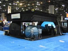 Elumens 4 dome booth. Roof looks too low.