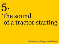 little country things!