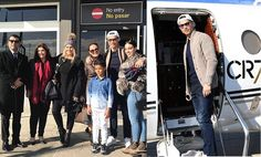 Cristiano Ronaldo and his family jetted out in style to Paris ahead of  the Ballon d'Or award ceremony tonight. The Real Madrid star ...