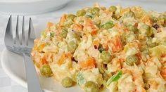 Салат из куриного мяса с морковью и зеленым горошком / Взлом логики