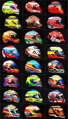 #F1 2012 Casques Officiel https://www.facebook.com/clubautozone