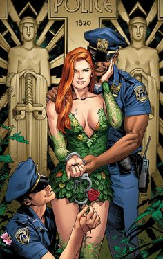 Former Marvel and Valiant exclusive artist Clay Mann joins DC for a new Poison Ivy series. Marvel Vs, Marvel Comics, Heros Comics, Dc Comics Art, Comics Girls, Dc Heroes, Gotham City, Dc Poison Ivy, Poison Ivy Dc Comics