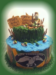 Coolest Duck Commander Cake Duck commander Cake and Party time