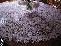 Ravelry: Knitted Lace Doily c1940's/ Semco Fairy Knitting Design No. 9 pattern by Semco