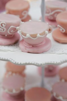 Teacups & Tutus Party - Teacup Cakeballs