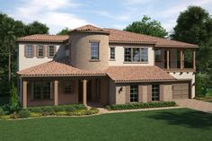 Standard Pacific Homes - The Killarney is a 5 bedroom,4 1/2 bath home. With 5,225 sq. ft., this high-quality home features a spacious floor plan with plenty of room for the whole family. #SpringPOH2015 #OrlandoHomes #HomeforSale