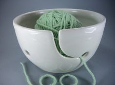 Yarn bowl - Why have I never heard of these??