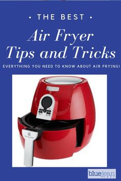 The ultimate guide to everything you need to know about using your Air Fryer! A complete list of general Air Frying tips, some tricks and troubleshooting too. Check out this list and become an expert air fryer. Cooking Classes Nyc, Cooking For A Group, New Cooking, Cooking Tips, Cooking Ham, Air Fryer Deals, Blue Jean Chef, Air Fryer Review, Air Fried Food