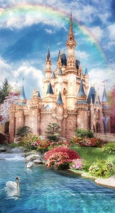 Discover recipes, home ideas, style inspiration and other ideas to try. Disney World Castle, Disney Princess Castle, Disney Castles, Cinderella Castle, Princess Art, Disney Love, Disney Art, Disney Mural, Punk Disney