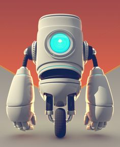 Dribbble - robot_03.jpg by Flavio Montiel