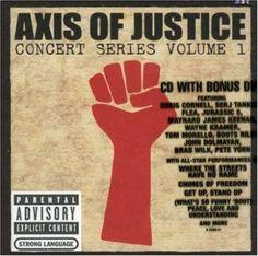 """Axis of Justice es una organización sin fines de lucro co-fundada por """"Tom Morello"""", guitarrista y vocalista de Rage Against the Machine y también de Audioslave, y """"Serj Tankian"""", vocalista de System of a Down. Su propósito es aunar los esfuerzos de músicos, fans y organizaciones políticas no gubernamentales, para tratar de lograr mejoras en la política social y que lucha contra el racismo. En el año 2004 editaron un disco en vivo llamado """"Concert Series Volume 1"""", que compiló canciones…"""