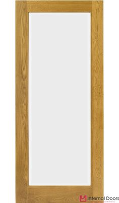 Pattern 10 French Glazed Oak Door