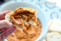 Roasted Eggplant Spread from Our Best Bites. Check out this post and take a look at all of the vibrant veggies that go on the roasting pan.  Even if you're not a fan of eggplant, chances are you'll love this.