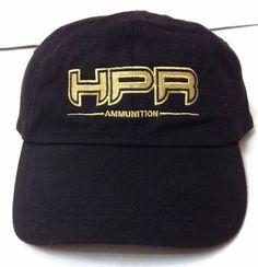 New HPR AMMUNITION HAT Black&Gold Gun Ammo Relaxed/Cotton Low-Crown Men/Women #MVSport #BaseballCap