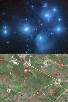 Le Pleiadi e i Nuraghi
