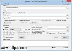 Download Portable grepWin setup at breakneck speeds with resume support. Direct download links. No waiting time. Visit https://www.softpaz.com/software/download-portable-grepwin-windows-157148.htm and click the download now button.