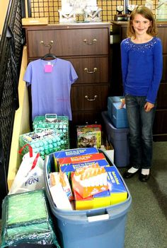 10-year-old Andie from Denver took it upon herself to hold an art supply drive for the Clubs - what a cool kid!