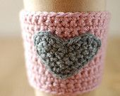 i wish i knew how to knit... this would be cute for Vday