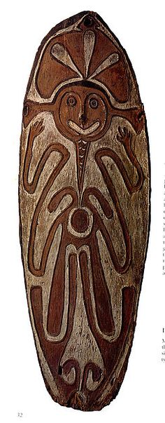 Spirit Board. Papua New Guinea late 19th-early 20th century. Wapo Culture. The Papuan Gulf region encompasses the arts and cultures of the Gulf of Papua on the southeast coast of New Guinea. In the past, the primary focus of religious and artistic life in the region was on powerful spirits (imunu)