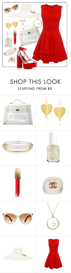 """Postcard Perfect"" by barbmama ❤ liked on Polyvore featuring Hermès, Pippa Small, Alexis Bittar, Essie, Burberry, Chanel, Tom Ford, Loquet, Littledoe and Alexander McQueen"