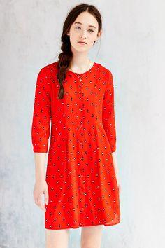 BB Dakota Daryn Printed Shirt Dress