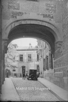 Calle Madrid año 1927-36 Antonio Passaporte, Archivo Loty, Fuente FPH
