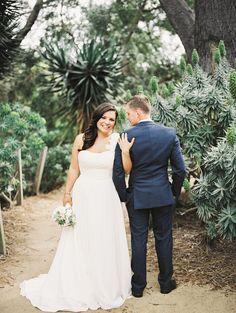San Diego Botanic Garden wedding - photo by Allie Lindsey Photography http://ruffledblog.com/san-diego-botanic-garden-wedding