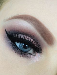 Nicola Kate Makeup: Double Lashes using Naked 3 palette